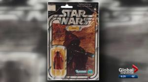 Edmonton collector selling Star Wars figurine for $30K
